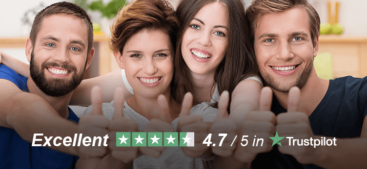 RATED #1 ON TRUSTPILOT See for Yourself